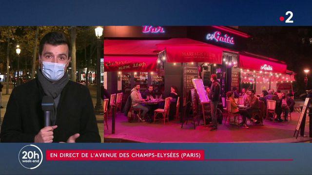 Couvre-feu : à Paris, les clients des restaurants et les salles de spectacles s'adaptent