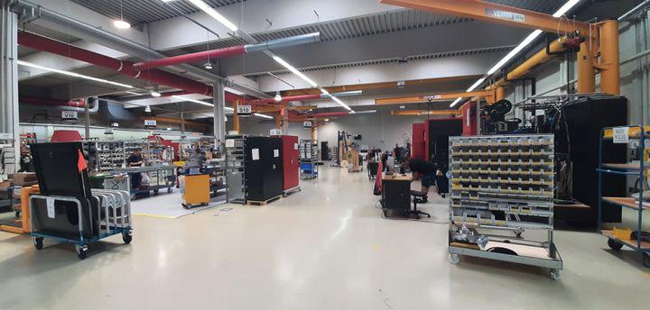L'entreprise Kern à Eschenlohe (Bavière). (SEBASTIEN BAER / FRANCE-INFO)