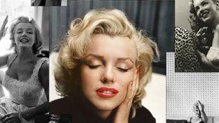 """L'affiche de l'exposition """"De Norma Jean à... Marilyn"""".  (Galerie de l'Instant)"""