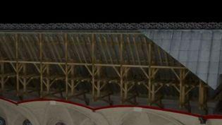 Une entreprise a numérisé la cathédrale en trois dimensions. (FRANCE 3)