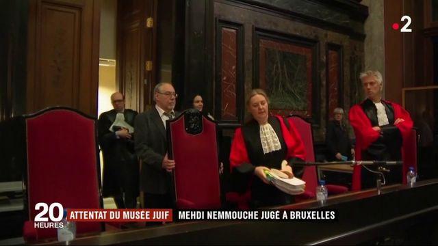 Attentat du musée juif : Mehdi Nemmouche jugé à Bruxelles