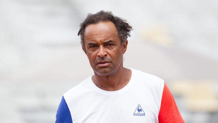 Yannick Noah, le capitaine de la France en Coupe Davis (MATTHIEU DE MARTIGNAC / MAXPPP)