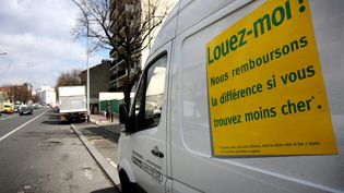 Une agence de location de voitures à Paris. (  MAXPPP)