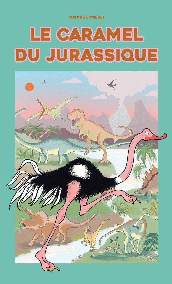 Le Caramel du Jurassique, Roxane Lumeret, Albin Michel Jeunesse, prix Pépite Livre illustré. (Albin Michel Jeunesse)