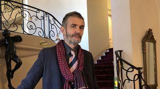 Philippe Lançon au sortir de la remise du prix Femina 2018  (Manon Botticelli)
