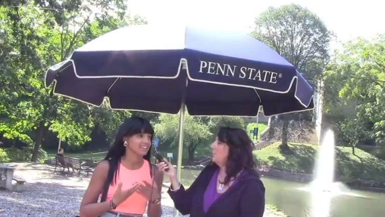 Capture d'écran de la vidéo réalisée par Rhonda Fink-Whitmanpour demander à la Pennsylvanie (Etats-Unis) de rendre obligatoire l'enseignement de la Shoah à l'école. (FRANCETV INFO )