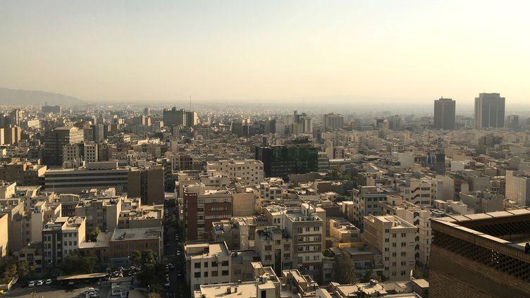 La ville de Téhéran vue depuis le ministère de l'Intérieur, le 24 octobre 2016. (REUTERS)