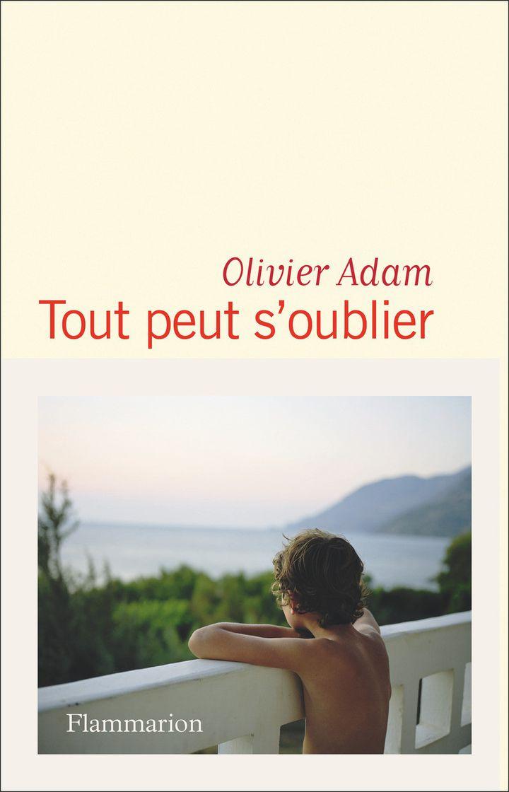 """Couverture du roman """"Tout peur s'oublier"""", d'Olivier Adam (FLAMMARION)"""