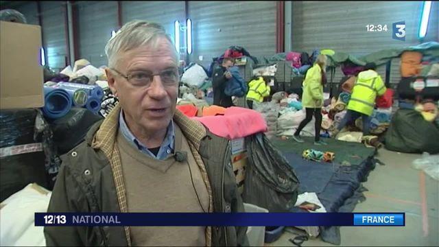 """Migrants : les dons affluent en vue du démantèlement de la """"jungle"""" de Calais"""