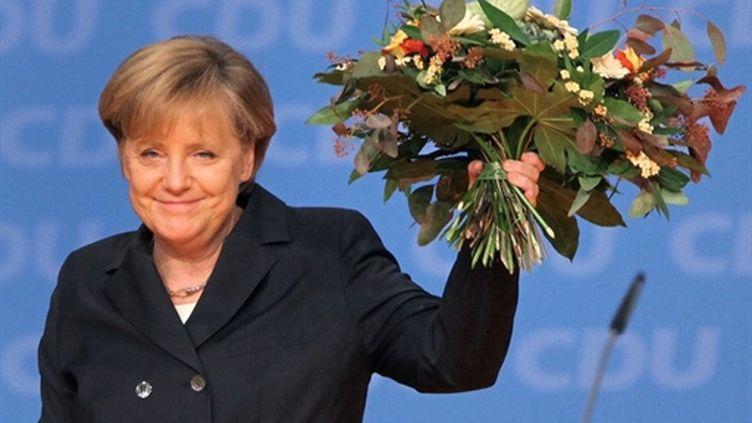 Angela Merkel réélue le 15 novembre à Karlsruhe (AFP Daniel Roland)