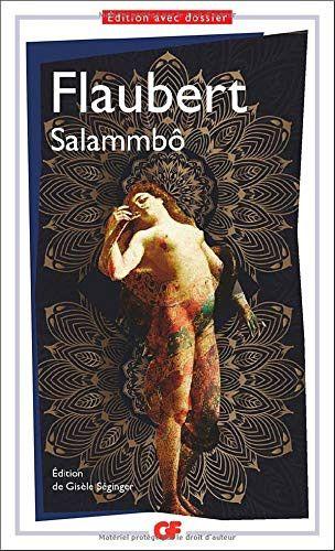 "Couverture de ""Salammbô"", de Gustave Flaubert, février 2021 (GF / FLAMMARION)"