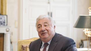 Le président du Sénat, Gérard Larcher, le 7 juin 2017 à Paris. (MAXPPP)