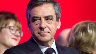 François Fillon à Compiègne (Oise), le 15 février 2017. (YANN BOHAC / CITIZENSIDE / AFP)