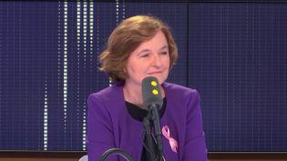 Nathalie Loiseau, la ministre des Affaires européennes, invité du 19h20politique sur franceinfo. (FRANCEINFO / RADIOFRANCE)