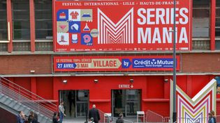 L'entrée du festival Série Mania à Lille (avril 2018)  (THIERRY THOREL / CrowdSpark)