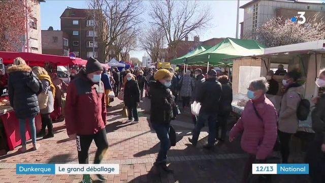Dunkerque : les commerçants dits non-essentiels autorisés à vendre en extérieur