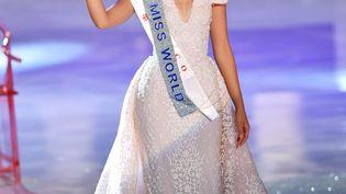 Vanessa Ponce de Leon,élue Miss Monde le 8 décembre 2018à Sanya, en Chine. (XINHUA / AFP)