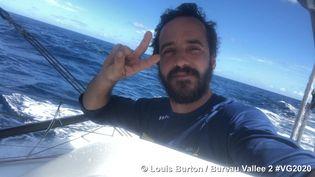"""Louis Burton, photo envoyée depuis le bateau """"BureauVallée2"""" pendant le Vendée Globe, le 13 Janvier 2021 (LOUIS BURTON / BUREAU VALLÉE 2)"""