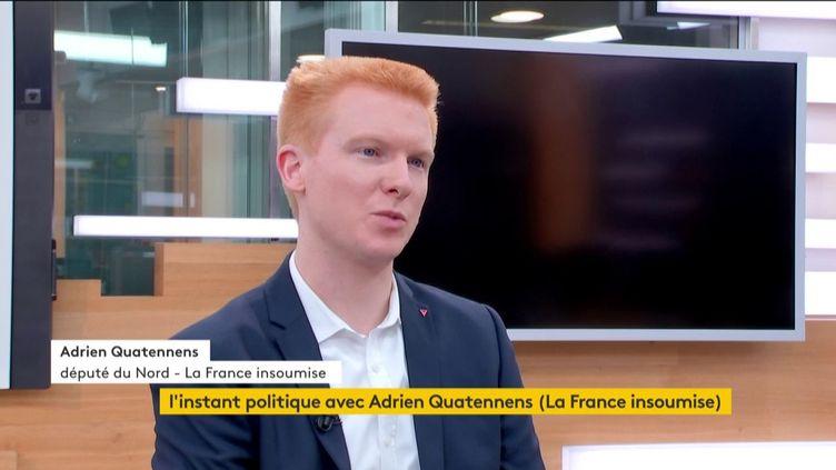 Adrien Quatennens (FRANCEINFO)
