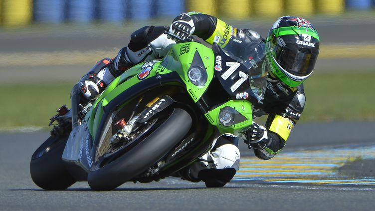 Grégory Leblanc-Mathieu Lagrive-Fabien Foret se relaient sur la Kawasaki N.11 (CITIZENSIDE/FRAN?OIS NAVARRO / CITIZENSIDE.COM)