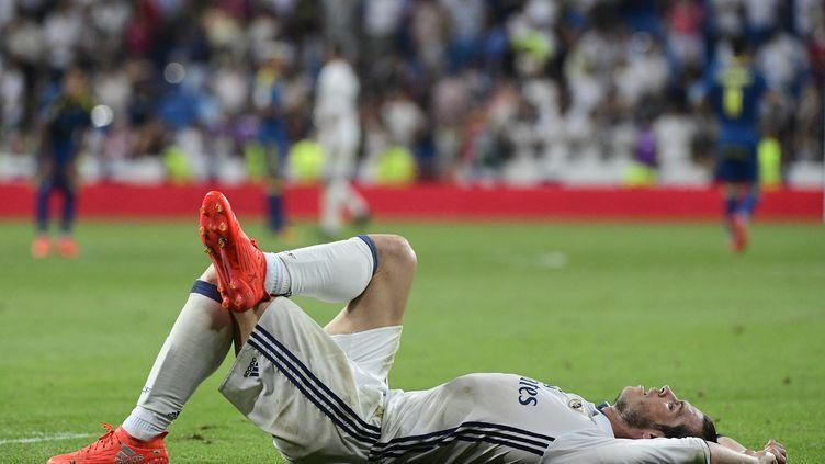 Le match entre le Real Madrid et le Celta Vigo s'était déjà disputé sous une chaleur étouffante. (PIERRE-PHILIPPE MARCOU / AFP)