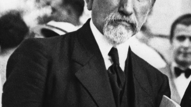 Charles Maurras, à Paris, le 19 mai 1938. (AFP)