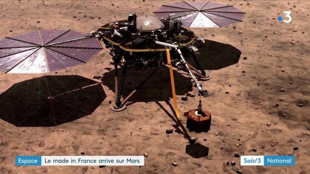 Le made in France arrive sur Mars