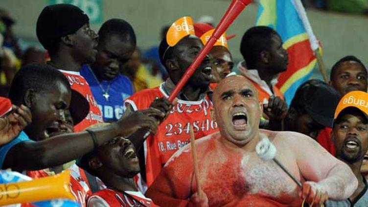 Les supporters tunisiens présents dans le stade mais également derrière leur télévision en France