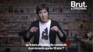 """VIDEO. """"Il n'y a pas d'inceste consenti, monsieur le Ministre"""" : Lettre ouverte de Christine Angot à Éric Dupond-Moretti (BRUT)"""
