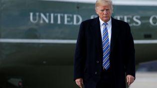 Le président américain Donald Trump à Palm Beach en Floride, le 23 mars 2018. (JOSHUA ROBERTS / REUTERS)