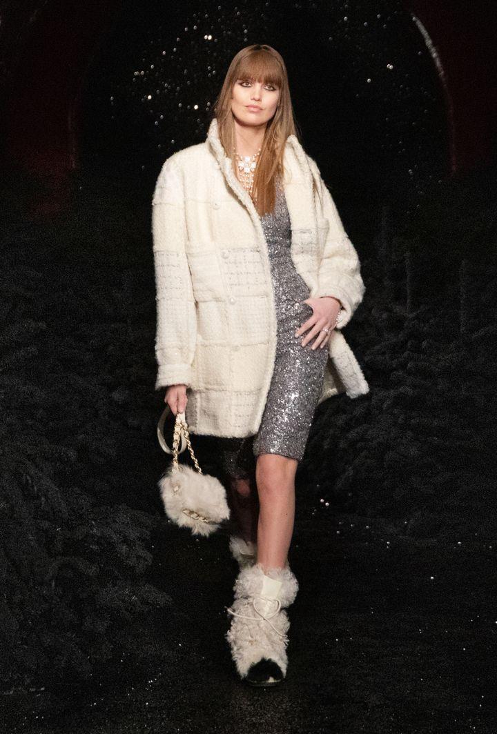 Chanel automne-hiver 2021-22, à la Paris Fashion Week, le 9 mars 2021 (BOBY)