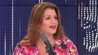 Marlène Schiappa, le 2 juillet 2020. (FRANCEINFO / RADIOFRANCE)