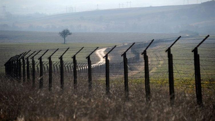 Frontière entre la Bulgarie et la Turquie (11 février 2011) (AFP/DIMITAR DILKOFF)