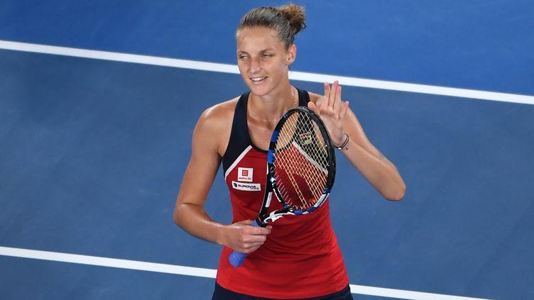La joueuse tchèque Karolina Pliskova (WILLIAM WEST / AFP)