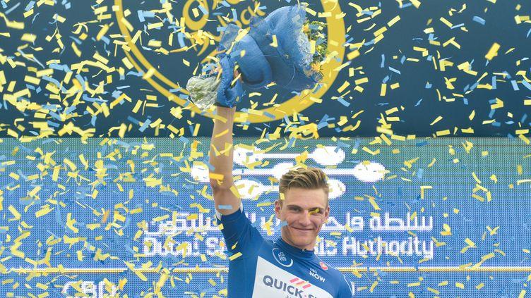 Marcel Kittel heureux après son succès (ARTUR WIDAK / NURPHOTO)