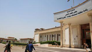 Le tribunal où sont jugés des jihadistes français à Bagdad (Irak), le 29 mai 219. (SABAH ARAR / AFP)