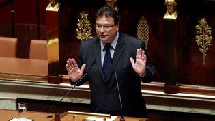 Le député Les Républicains Philippe Gosselin à l'Assemblée Nationale, en décembre 2016. (JACQUES DEMARTHON / AFP)