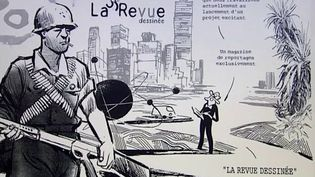 La Revue dessinée, un projet qui devrait voir le jour début 2013  (France3 / Culturebox)