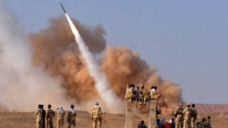 Un missile balistique iranien lancé le 28 juin 2011 d'un lieu non divulgué (photo de l'agence officielle ISNA) (AFP - ISNA - ROHOLAH VAHDATI)