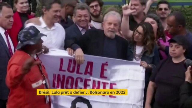 Brésil : Lula pourrait bien affronter Bolsonaro aux présidentielles
