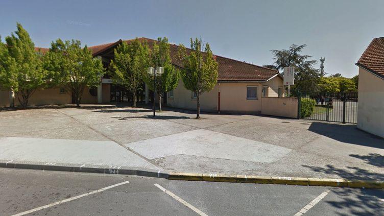 Le collège du Bois d'Aulne, à Conflans-Sainte-Honorine (capture écran). (GOOGLE STREET VIEW)
