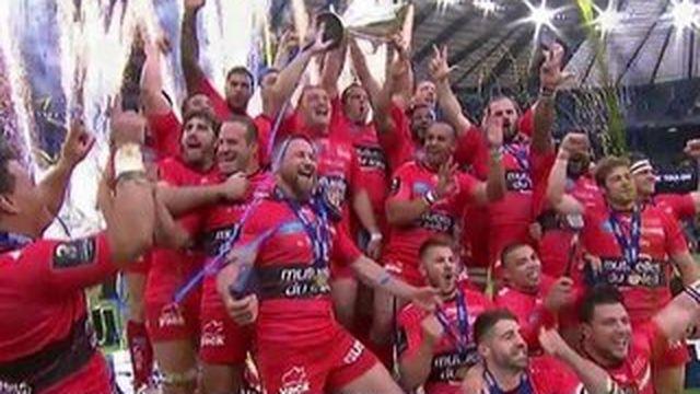 Rugby : Toulon s'offre un triplé inédit