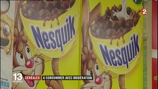 Alimentation : les céréales pour enfants jugées trop sucrées