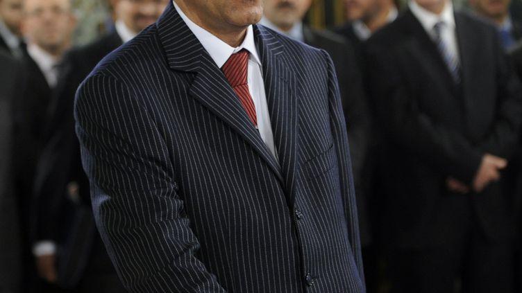 Habib Jemli, lorsqu'il étaitsecrétaire d'Etat auprès du ministre de l'Agriculture, le 24 décembre 2011 à Tunis. (FETHI BELAID / AFP)