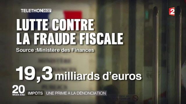 Fraude fiscale : une prime à la dénonciation envisagée