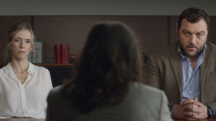 """Léa Drucker et Denis Ménochet dans """"Jusqu'à la garde"""" de Xavier Legrand  (Haut et Court)"""