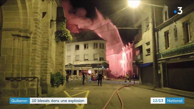 Quiberon : 10 blessés dans une explosion