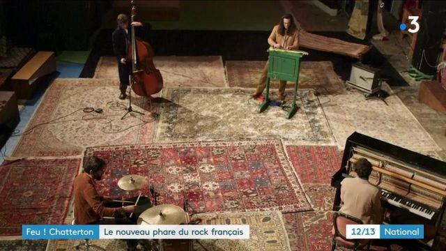 Chanson française : le groupe Feu ! Chatterton fête ses dix ans avec un nouvel album