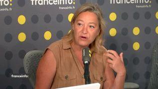Ludovine de la Rochère, présidente de la Manif pour tous. (FRANCEINFO / RADIOFRANCE)