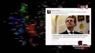 """""""Emmanuel Macron financé par l'Arabie saoudite"""", ou l'histoire d'une Fake News (FRANCE 2 / FRANCETV INFO)"""